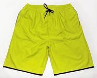 2014 New Designer Quick Dry Polyester Swimwears Mens Board Shorts Beach Pants Yellow