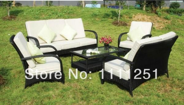 All Weather Outdoor Rattan Furniture Sofa Set(China (Mainland))