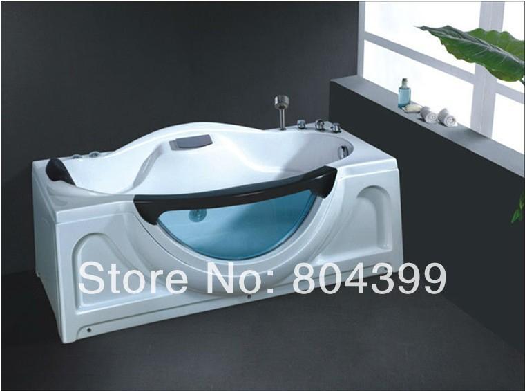 New design bathtubs & whirlpools portable bathtub 1.7m cool 1 person hot cedar hot tub No.B267(China (Mainland))