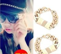 5pcs/lot fashion accessories 2014 metal chain bracelet female bracelet A2098