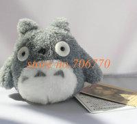 "WHOLESALE~10PCS/SET Kawaii Japan Anime Totoro~ 4"" Plush Stuffed TOY DOLL Charm Lanyard Pendant BAG Key Chain IN HAND!!"