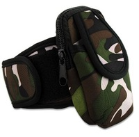 Camouflage Armband Sport Case Pouch For CellPhone universal case (Big size)