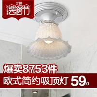 Fashion brief ceiling light bedroom lights study light balcony lamps bathroom lighting 30080 e