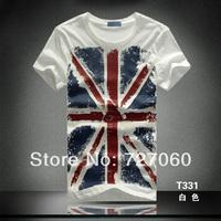 2014 torx flag national flag pattern T-shirt short-sleeve o-neck casual male t-shirt short-sleeve tshirt