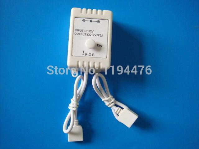 Libre. shipping12v une touche contrôleur pour smd 3528 5050 rgb led smd bande feux livraison gratuite