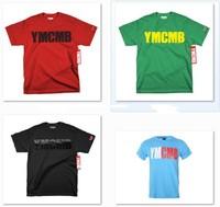 2014 YMCMB  T shirt   Brand Top  Tee 100% Cotton T-shirts Fashion  Star Free Shipping