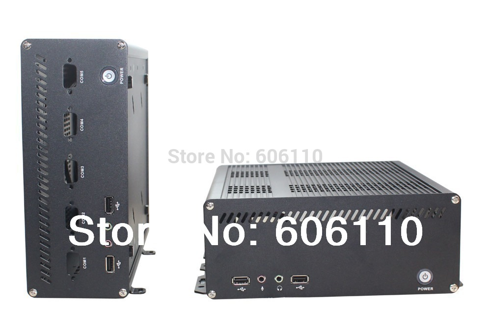 Aluminium case itx case x8 case mini pc htpc car pc case itx motherboard with pci or pci-x Extension(China (Mainland))