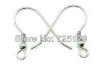 200PCS Lot Making DIY Design Jewelry Findings 925 Silver Hook Earrings  925 Sterling Silver Hooks Earrings