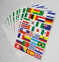 2014 World Cup Brazil the Tattoos with 32 National football team logos Body Tattoo Sticker  /J