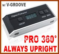 360 Degree Range Digital Protractor Angle sensor meter inclinometer Aluminum casing Angle Gauge level finder Bevel Box Magnetic