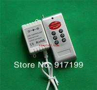 Wireless DC 12V / 24V RGB RF LED Controller 8 KEYS ,144W ,For RGB 5050 3528 LED Strips Light ,Free Shipping