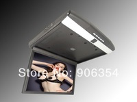 High quality Super slim 17.3 inch LED screen Bus Monitor Roof mounted Car Monitor with IR,FM,USB,SD,HDMI free shipping
