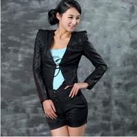 Женская одежда из кожи и замши Pu Xxl Q157