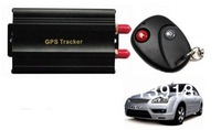 Courier Shipping(5pc/lot)TK103B GPS103 Most Popular and Powerful Vehicle GPS Tracker +Vehicle Alarm QUAD BAND(NO RETAIL PACKING)