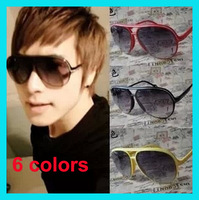 Fashion large m25 anti-uv sunglasses vintage sunglasses male Women the trend of the big black sunglasses