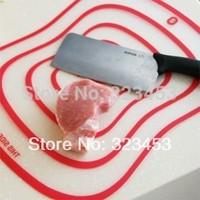 4Pcs/Bag 41.5*31.5*0.08CM Fashion Healthy cutting board plastic Chopping Block Fruit plate Large Kitchen Flexible chopping board