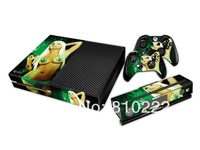 Protective Vinyl Decal Skin/Stickers Wrap For xbox one Console+ 2 Controllers+Kinect Skin-Sexy Girl-0042