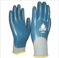Full waterproof gloves wear-resistant oil gloves  A pair of PAD 9206