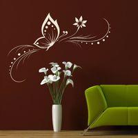 Elegant Butterfly vinly Wall Sticker Decal Big Butterflies Wall art mural home decor