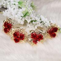 Hairpin hair accessory marriage accessories the bride hair accessory red formal dress cheongsam hair stick fat plug wedding