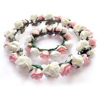 Garishness powder green hand ring wedding accessories bridal hairpin