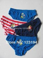fireman sam Panties boy pants underwear shorts kids briefs wholesale panties clothes free shipping Random 3pcs