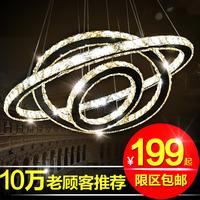 Brief modern living room lamp led crystal lamp pendant light lamps