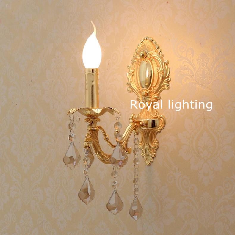 applique moderna elegante : ... moderna applique da parete oro lightseurope fluorescente oro applique