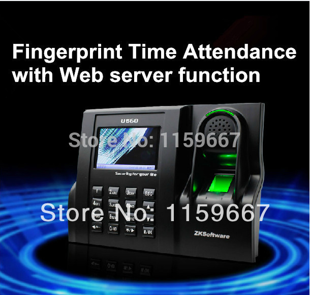 how to install fingerprint time attendance