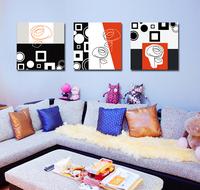 Frameless, Print on canvas, Flower YSM372, 3pieces/ set, modern wall art,flower oil painitng, free shipping via china post