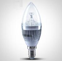 3w 5w LED Candle Light E14 E27 LED Light Bulbs White/Warm White LED Bulbs 110v/120v/220v/230v/240v For Pendant Lamps