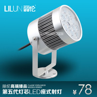 Led light assembly wall lamp dome light according to the light painting 3w5w wall lights big base