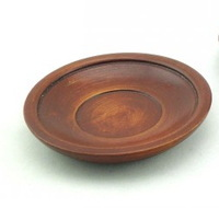 solid wood dish wood plate dried fruit dish casual food dish 2 eco-friendly