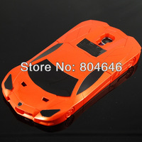 G4-057 orange Racing car model hard case for Samsung Galaxy S4 i9500 i9505 Bull sport car most wanted need for speed stand case
