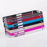 Luxury SLIM Ultrathin 0.7MM Aluminum Metal Bumper Case for Apple iPhone 5 5S DHL  Free Shipping 300pcs/lot