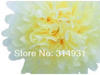 "10Pcs 45CM 18"" Pom Poms Tissue Paper flower Wedding, Woodland,birthday & event Party Decorations DIY Site layout decoration"