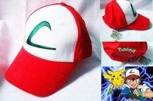 The original single export POKEMON hat baseball cap v little wisdom Play a cartoon character anime(China (Mainland))