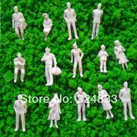 300pcs wholesale-1/150 white Figures WF-1/150, model figure O scale for tran layout