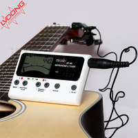Guitar tuner three-in wood guitar tuner e-metronome guitar tuner mt-80