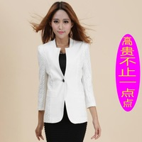 2014 new Women Slim thin small suit jacket Sleeve