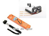 Extendable Handheld Camera 1pcsTripod Mobile phone Monopod +1pcs phone Clip for Digital Camera phone i9300 i9500 n9006 n7100 DV