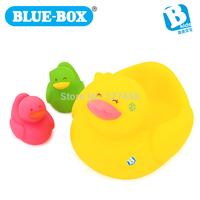 Bluebox Children playing in the water toys Didi duck family 003724  (1PCS BIG+2 PCS CHIRLDREN)