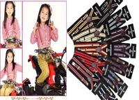2014 Children Adjustable striped Suspenders baby Elasti Braces Kid Suspenders,Size 2.0*65CM,12colors,20pcs/lot,Free Shipping