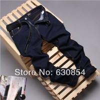 Hot Sale Free Shipping new 2014 jeans pencil pants feet pants men's pants fashion casual brand jeans men plus size 28-36