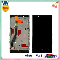 Glass LCD Display Touch Screen Digitizer Frame Assembly Replacement For Nokia Lumia 720