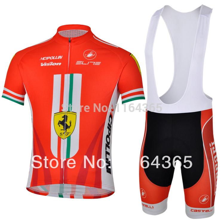 Freeshipping Nice Red Troy Lee Design Spain Italia Cycling Jersey Clothing bib Shorts/Bike Bicicletas roupa de ciclismo Maillot(China (Mainland))