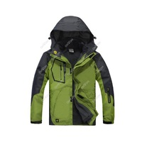 New Men Waterproof Windproof 3in1 Soft Shell Fleece Ski Snowboard Outdoor Jacket