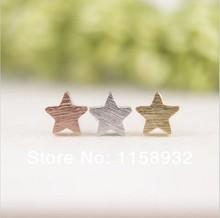 wholesale pink star earrings