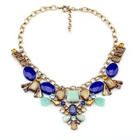 Fashion fashion accessories flower pendant all-match women's necklace