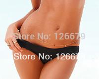 2014 New Design Sexy Shining Pieces Belly Chain Bikini Body Jewelry for Women